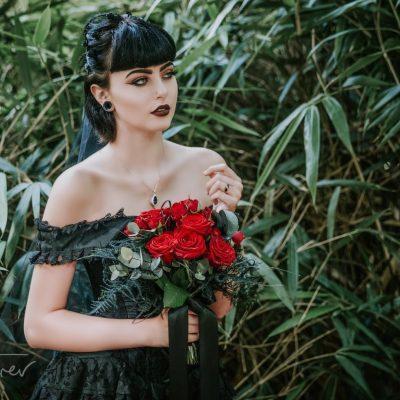 Simon Turner Photos Gothic Bride Delepre Abbey
